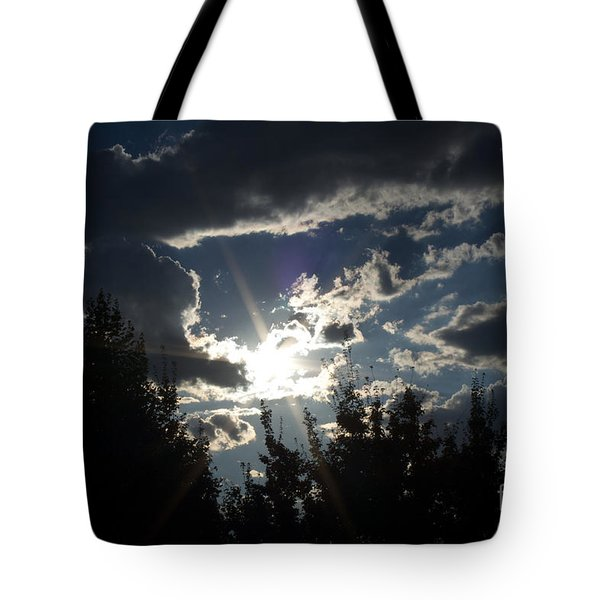 Sunshine Always Returns Tote Bag