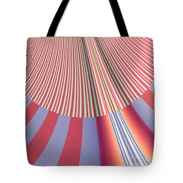 Sunshine And Rain Fractal 132 Tote Bag by Rose Santuci-Sofranko