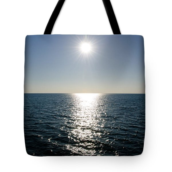 Sunshine Over The Mediterranean Sea Tote Bag