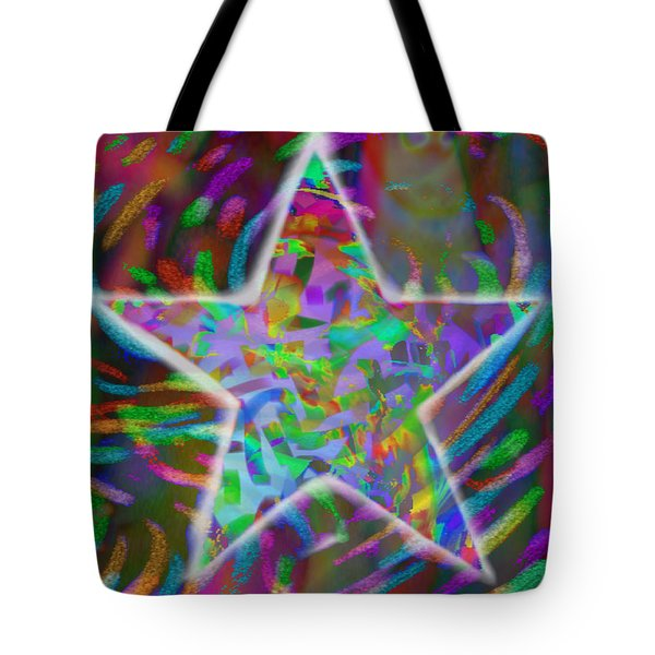 Super Star Tote Bag by Kevin Caudill