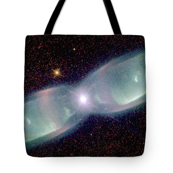 Supersonic Exhaust From Nebula Tote Bag by STScI/NASA/Science Source