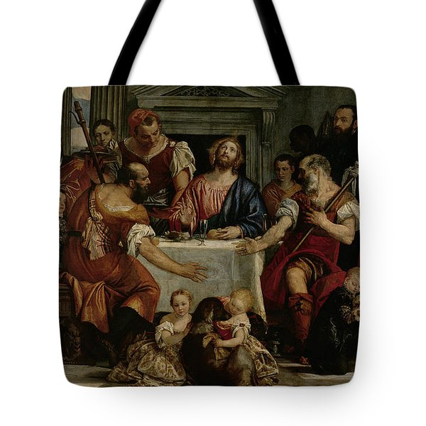 Supper At Emmaus Tote Bag by Veronese