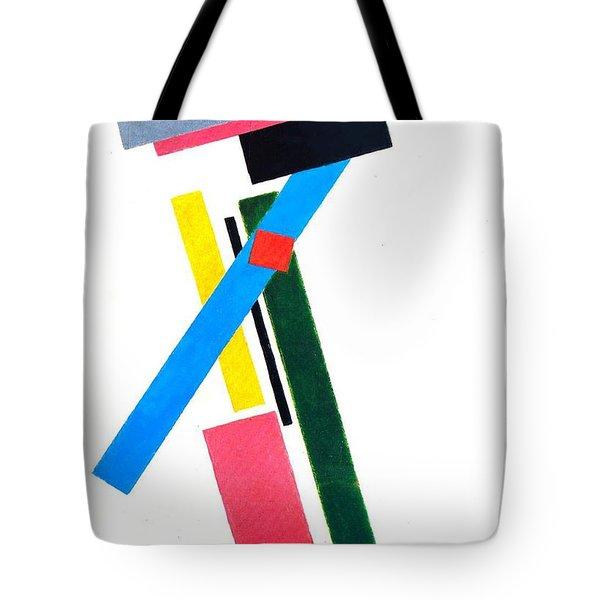 Suprematism Tote Bag by Kazimir Severinovich Malevich