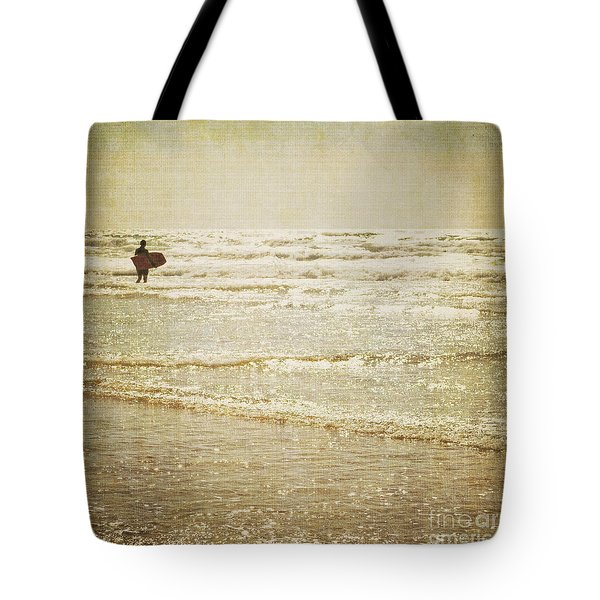 Surf The Sea And Sparkle Tote Bag by Lyn Randle