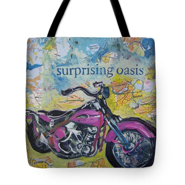 Surprising Oasis Tote Bag