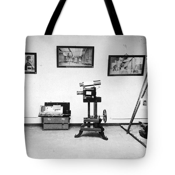 Surveillance Equipment, 19th Century Tote Bag by Science Source