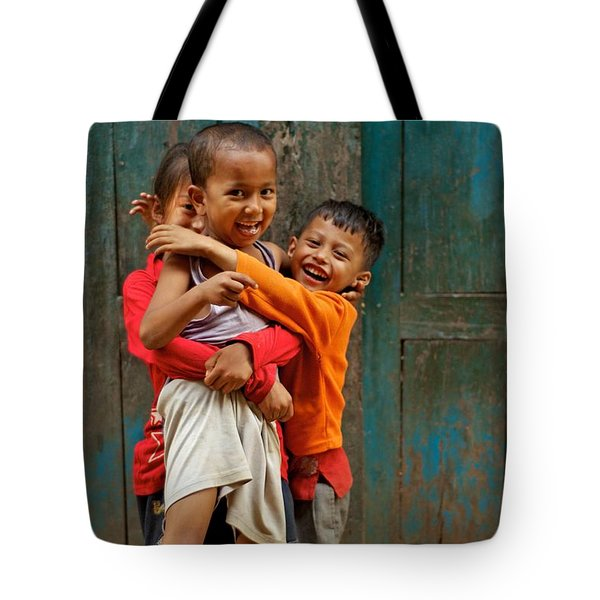 Survival Of The Fittest Tote Bag by Valerie Rosen