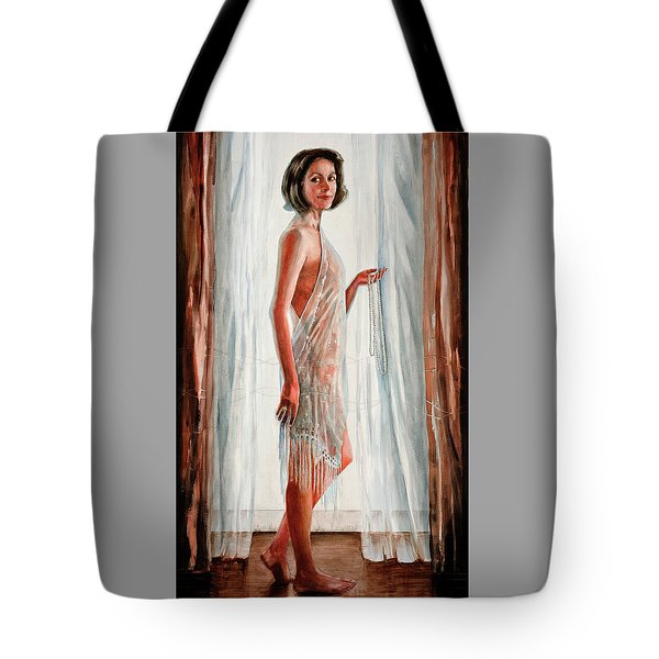 Survivor Self-portrait Tote Bag