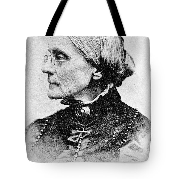 Susan B. Anthony, American Civil Rights Tote Bag by Photo Researchers, Inc.