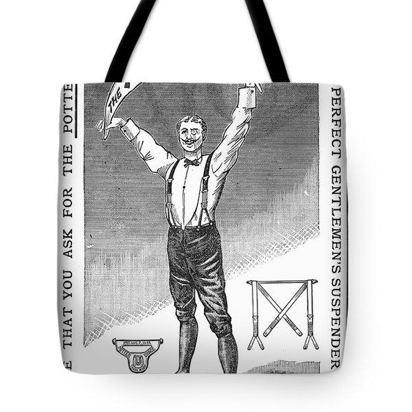 Suspenders, 1888 Tote Bag by Granger