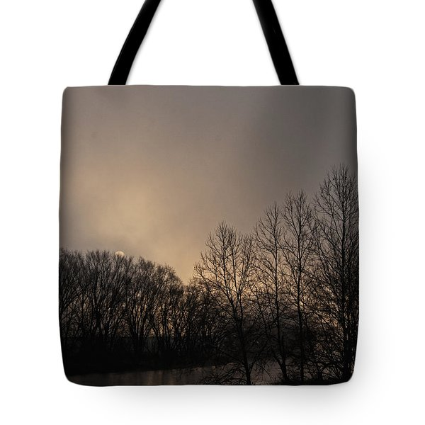Susquehanna River Sunrise Tote Bag