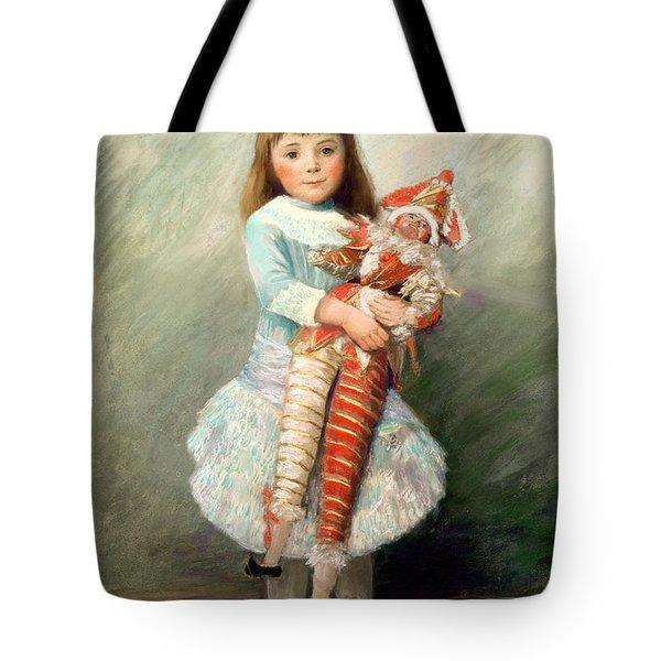 Suzanne Tote Bag by Pierre Auguste Renoir
