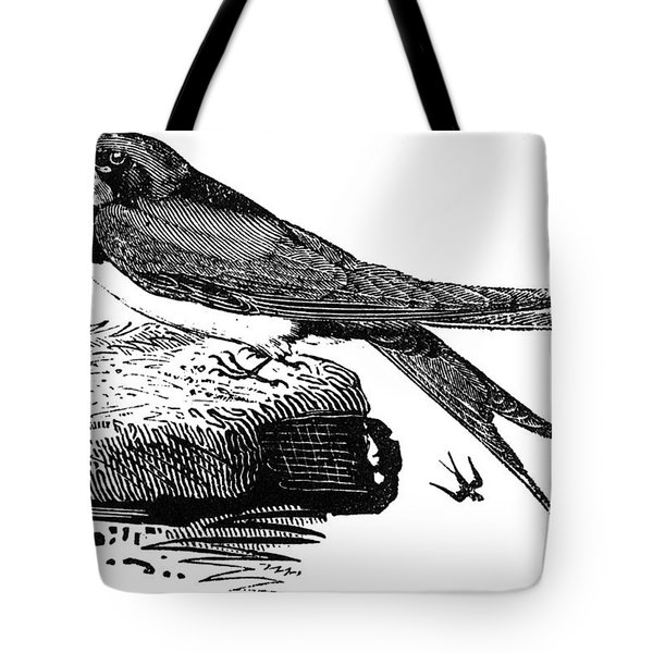 Swallow, C1800 Tote Bag by Granger