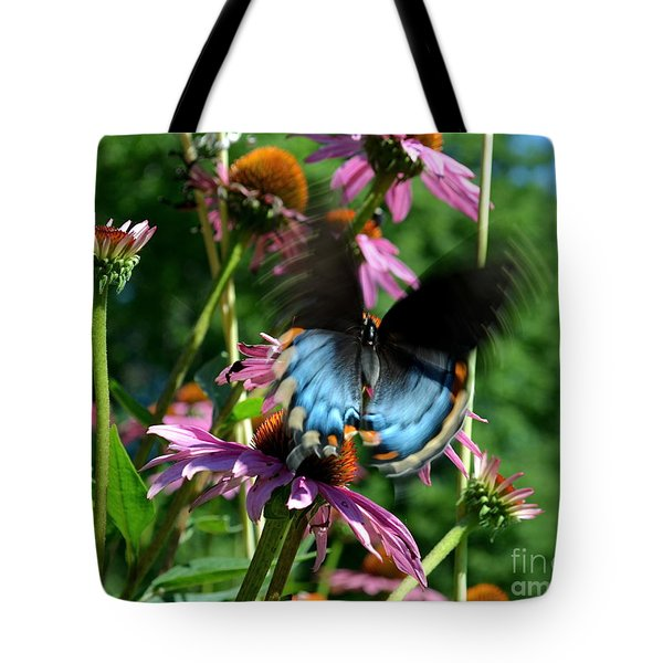 Swallowtail In Motion Tote Bag