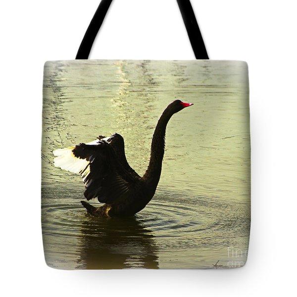Swan Dance 3 Tote Bag by Blair Stuart