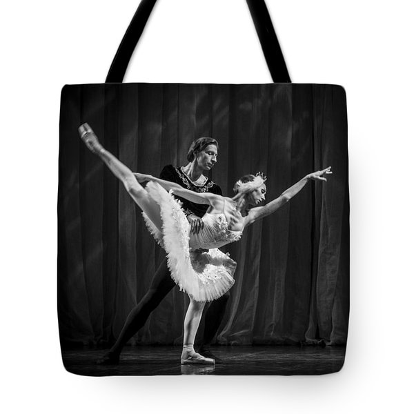 Swan Lake  White Adagio  Russia 3 Tote Bag by Clare Bambers