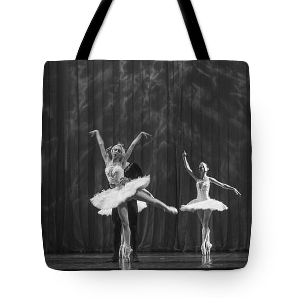 Swan Lake  White Adagio  Russia 4 Tote Bag by Clare Bambers