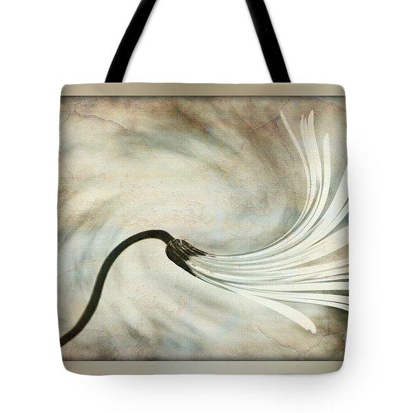 Sweeping Petals Tote Bag by Kaye Menner