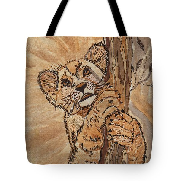 Sweet Baby Tote Bag by Connie Valasco