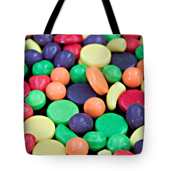 Tote Bag featuring the photograph Sweet Candy Galore  by Sherry Hallemeier