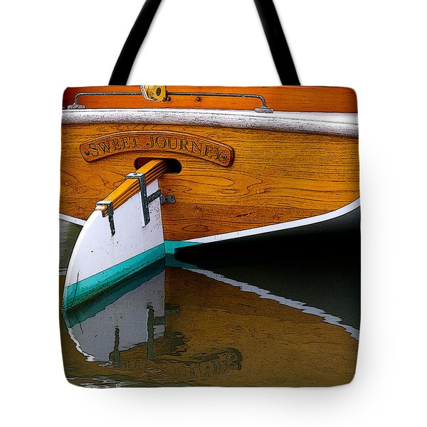 Sweet Journey Tote Bag by Michael Friedman