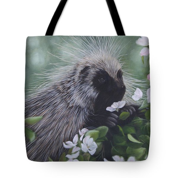 Tote Bag featuring the painting Sweet Treat by Tammy Taylor