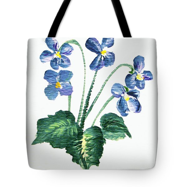 Sweet Violets Tote Bag