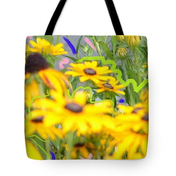 Sweet William Tote Bag by Karen Francis