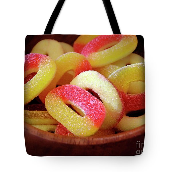 Sweeter Candys Tote Bag by Carlos Caetano