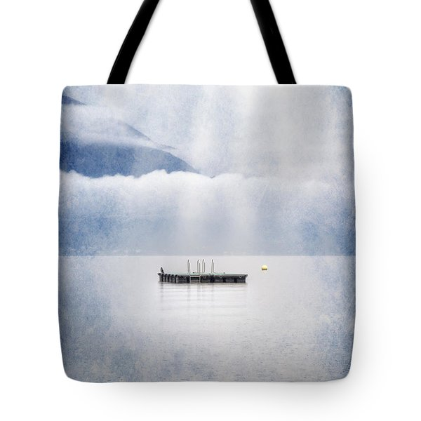 Swim Platform Tote Bag by Joana Kruse