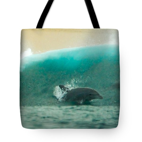 Swim Thru Tote Bag