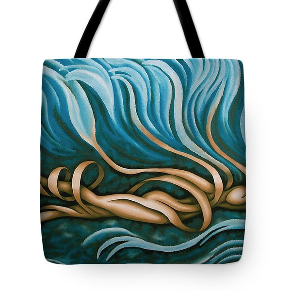 Swimmy Lady Tote Bag