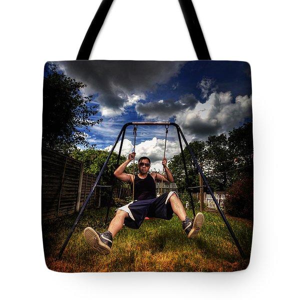 Swinger Tote Bag by Yhun Suarez