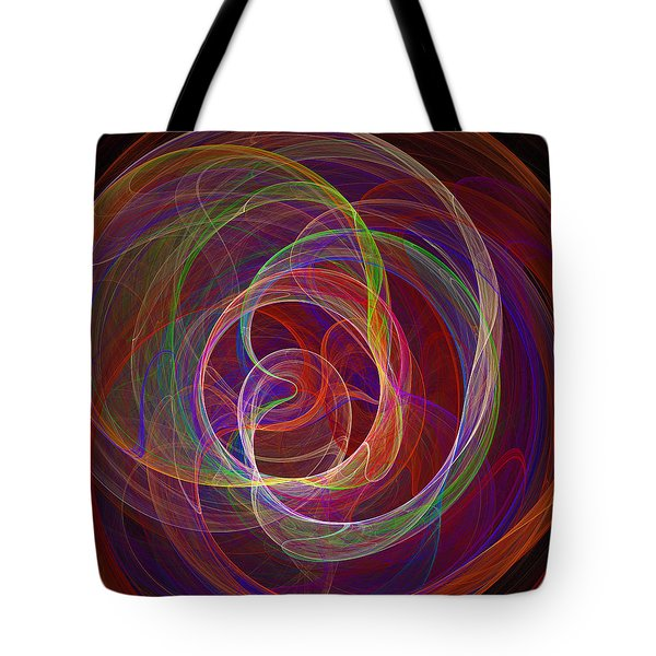 Swirling Energy II Tote Bag