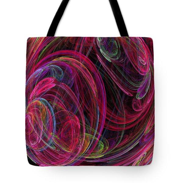 Swirling Energy Tote Bag