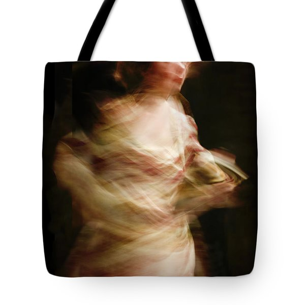 Swirling Tote Bag by Margie Hurwich