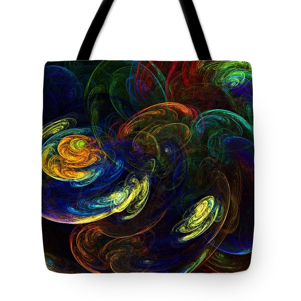 Swirling Storms Tote Bag