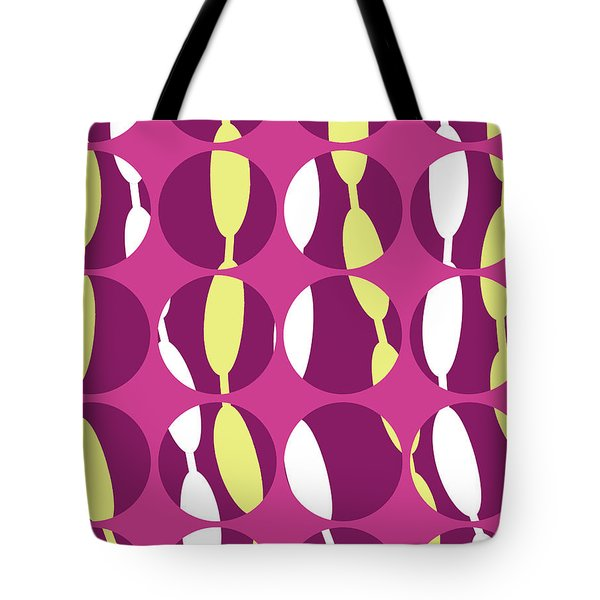 Swirly Stripe Tote Bag by Louisa Knight