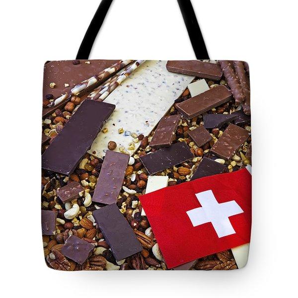 Swiss Chocolate Tote Bag by Joana Kruse