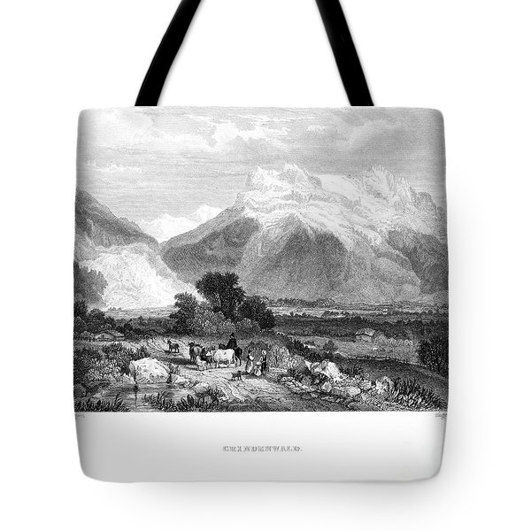 Switzerland: Grindenwald Tote Bag by Granger