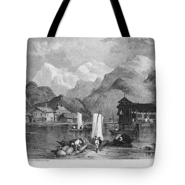 Switzerland: Interlachen Tote Bag by Granger