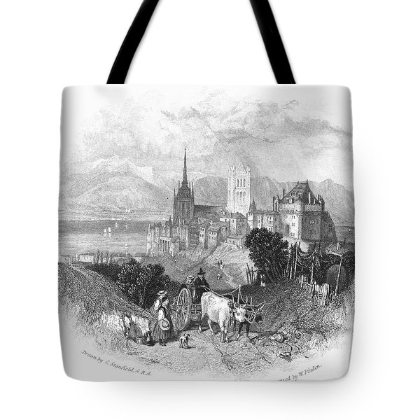 Switzerland: Lausanne Tote Bag by Granger