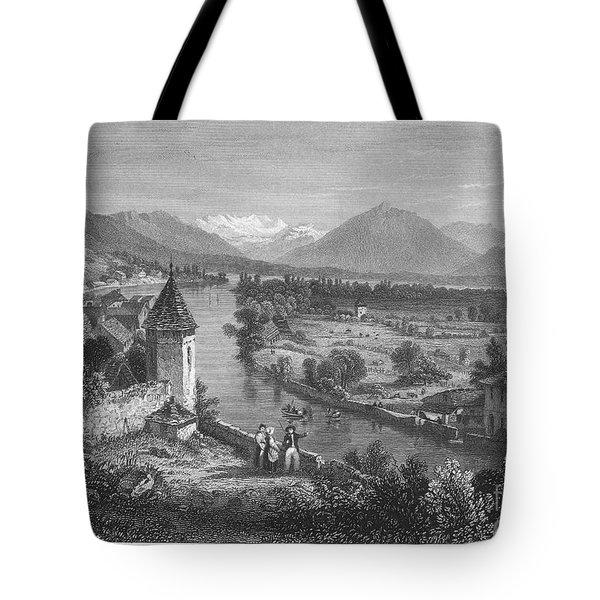 Switzerland: Thun, 1833 Tote Bag by Granger
