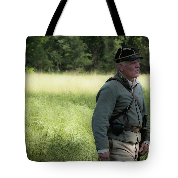 Sword At My Side Tote Bag by Kim Henderson