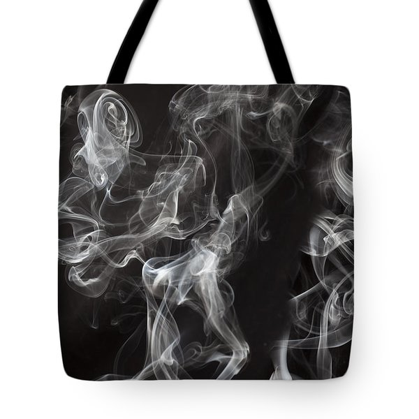 Swriling Smoke  Tote Bag by Garry Gay