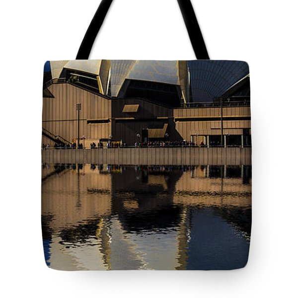 Sydney Opera House Abstract Tote Bag by Avalon Fine Art Photography