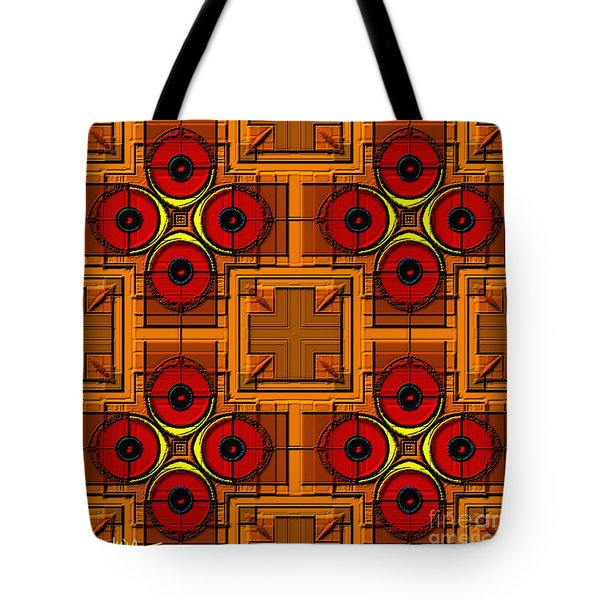 Symmetrica 188 Tote Bag by Nedunseralathan R