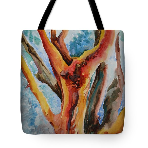 Symphony Of Branches Tote Bag