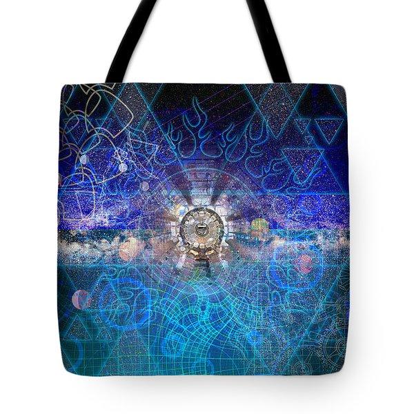 Synesthetic Dreamscape Tote Bag