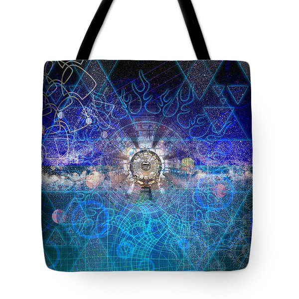 Synesthetic Dreamscape Tote Bag by Kenneth Armand Johnson